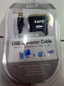 Kabel LPT to USB Bafo Ori