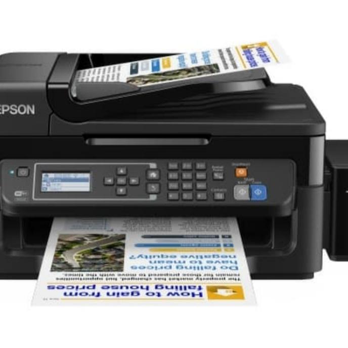 printer Epson l565 tidak keluar tinta